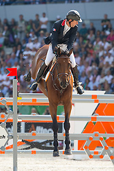 Patrice Delaveau, (FRA), Zenith SFN - Show Jumping Final Four - Alltech FEI World Equestrian Games™ 2014 - Normandy, France.<br /> © Hippo Foto Team - Leanjo de Koster<br /> 07-09-14