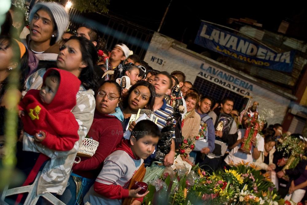 Mexico city, neighborhood of Tepito: The cult of Saint Death.