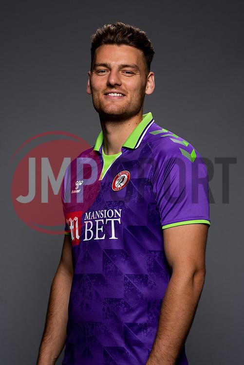 Chris Martin of Bristol City during the 20/21 media day - Rogan/JMP - 03/09/2020 - Ashton Gate Stadium - Bristol, England.
