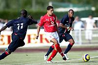 Fotball<br /> Frankrike<br /> Foto: Dppi/Digitalsport<br /> NORWAY ONLY<br /> <br /> FOOTBALL - FRIENDLY GAMES 2006/2007 - PARIS SAINT GERMAIN v AL AHLY - 11/07/2006 - AHMED EL SAYED (AHLY) / AMARA DIANE (PSG)