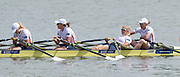 Poznan, POLAND. Women's W4X, final.  GBR W4X. Bow Melanie WILSON, Kristina STILLER, Beth RODFORD and Jessica LEYDEN. 2015 FISA European Rowing Championships. Venue, Lake Malta. Sunday 31.05.2015. [Mandatory Credit: Peter Spurrier/Intersport Images]2015 FISA European Rowing Championships. Venue, Lake Malta. Sunday 31.05.2015. [Mandatory Credit: Peter Spurrier/Intersport Images] .   Empacher.