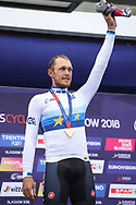 Matteo Trentin (Italy) European Champion during the Road Cycling European Championships Glasgow 2018, in Glasgow City Centre and metropolitan areas Great Britain, Day 11, on August 12, 2018 - Photo Laurent Lairys / ProSportsImages / DPPI