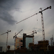 Construction site in Milan