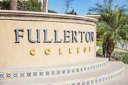 Fullerton Community College Monument