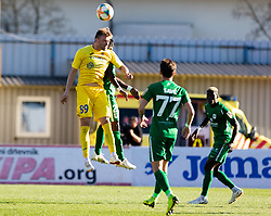Vuk Slobodan of NK Domzale vs Savic Stefan of NK Olimpija Ljubljana during football match between NK Olimpija Ljubljana and NK Domžale in 24rd Round of Prva liga Telekom Slovenije 2018/19, on March 30, 2019 in Sports park Domzale, Slovenia Photo by Matic Ritonja / Sportida