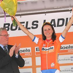 29-08-2017: Wielrennen: Boels Ladies Tour: Wageningen; Annemiek van Vleuten is de eerste leidster in de Boels Ladies Tour 2017