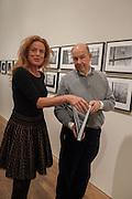 PETRA GILROY-HIRTZ; ANTONY D'OFFAY, Warhol, Burroughs and Lynch exhibition. The Photographers' Gallery, Ramillies Place, London. 16 January 2014.