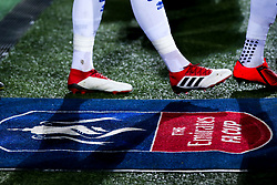 Queens Park Rangers and Watford enter the field at Loftus Road for the FA Cup fifth round tie - Mandatory by-line: Robbie Stephenson/JMP - 15/02/2019 - FOOTBALL - Loftus Road - London, England - Queens Park Rangers v Watford - Emirates FA Cup fifth round proper
