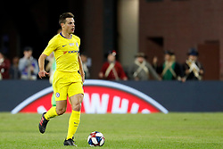 May 15, 2019 - Foxborough, MA, U.S. - FOXBOROUGH, MA - MAY 15: Chelsea FC defender Cesar Azpilicueta (28) during the Final Whistle on Hate match between the New England Revolution and Chelsea Football Club on May 15, 2019, at Gillette Stadium in Foxborough, Massachusetts. (Photo by Fred Kfoury III/Icon Sportswire) (Credit Image: © Fred Kfoury Iii/Icon SMI via ZUMA Press)
