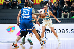 Tina TREBEC  of Slovenia during basketball match qualifications for European Championship, round 1, between national teams Slovenia and Greece in Arena Celje - Center, 14. November, Ljubljana, Slovenia. Photo by Grega Valancic / Sportida