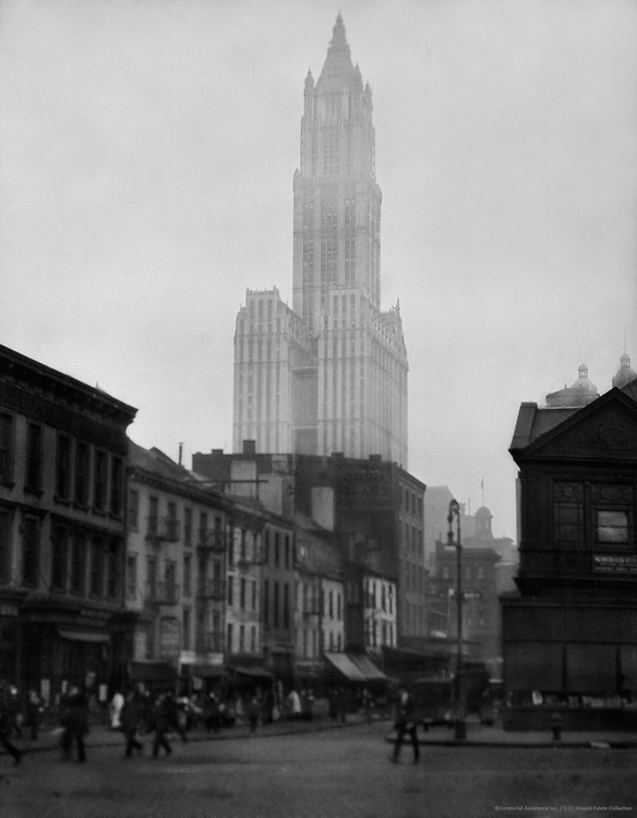 Woolworth Building, New York City, 1921