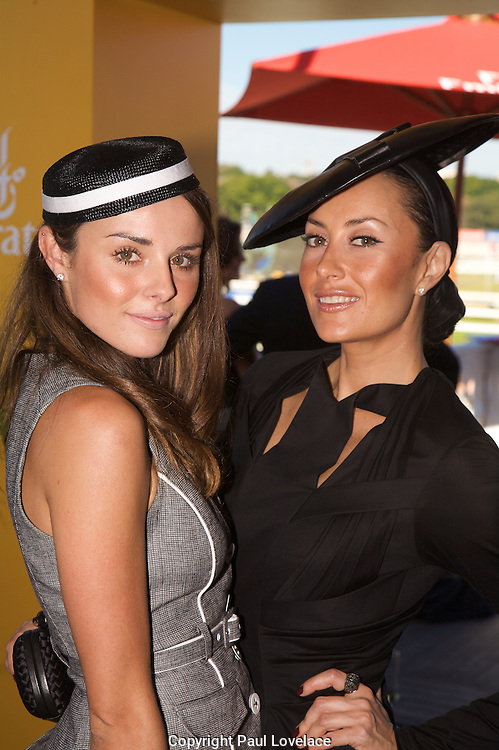 David Jones Australian Derby Day 2010 , Sydney-Australia.Paul Lovelace Photography.Merette Gearin & Terry Biviano.[Total 69 Images].[Non Exclusive] . An instant sale option is available where a price can be agreed on image useage size. Please contact me if this option is preferred.