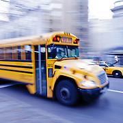 School Bus on Fifth Avenue.