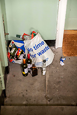 Don't forget to recycle your waste, Edinburgh, 30 April 2020