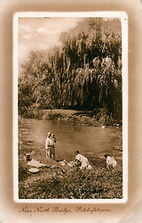 Near North Bridge, Potchefstroom, near Klerksdorp, Dr Kenneth Kaunda, North West, South Africa.     Date: 1910s (Credit Image: © Mary Evans via ZUMA Press)