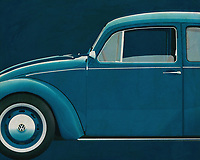 Who doesn't know him? Our good old Volkswagen Beetle. With this painting of the Volkswagen Beetle you get pure nostalgia. The Volkswagen Beetle is the most sold car worldwide. -<br /> <br /> BUY THIS PRINT AT<br /> <br /> FINE ART AMERICA<br /> ENGLISH<br /> https://janke.pixels.com/featured/volkswagen-beetle-from-the-side-jan-keteleer.html<br /> <br /> WADM / OH MY PRINTS<br /> DUTCH / FRENCH / GERMAN<br /> https://www.werkaandemuur.nl/nl/shopwerk/Volkswagen-Kever-Sedan-1972-zijde/572003/132