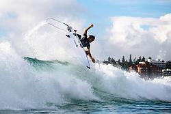 Barron Mamiya HAW at the 2019 Vissla Manly Surf Pro at Manly Beach, NSW, Australia.