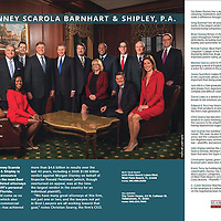 Best Lawyer 2016, Searcy, Searcy Law, Partners and associates, formal group portrait