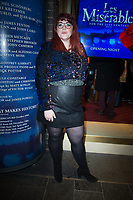 Jenny Ryan at the Les Miserables Gala Press Night at the Sondheim Theatre in London's West End.