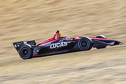 September 14, 2018 - Sonoma, California, United Stated - CARLOS MUNOZ (6) of Colombia takes to the track to practice for the Indycar Grand Prix of Sonoma at Sonoma Raceway in Sonoma, California. (Credit Image: © Justin R. Noe Asp Inc/ASP via ZUMA Wire)