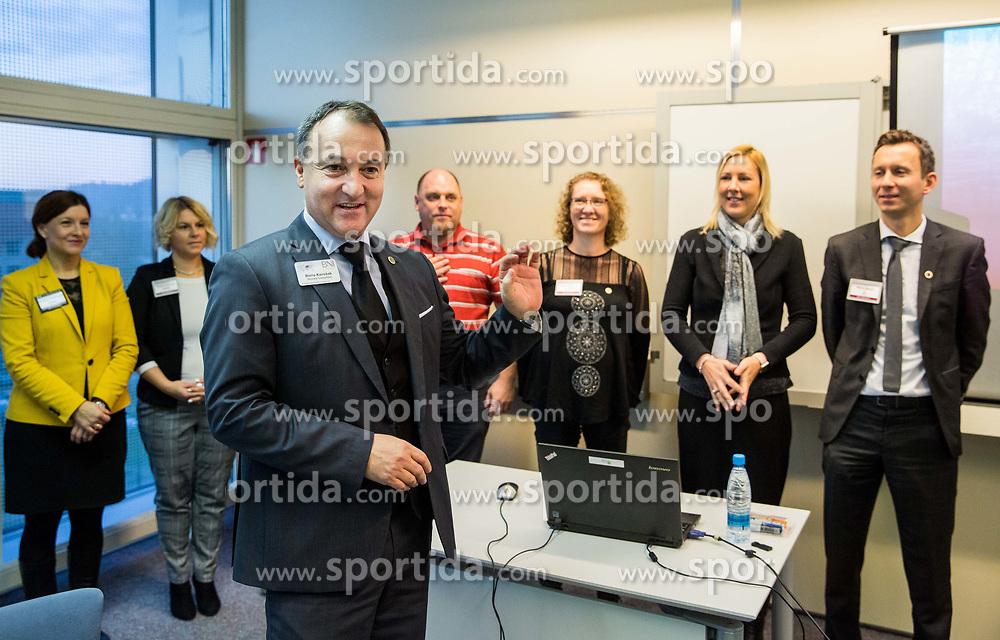 Boris Korosak, Poslovna skupina BNI Mostovi, srecanje dne 12. decembra 2018. Foto: Vid Ponikvar / Sportida
