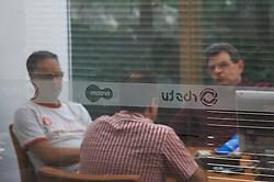 Entrevista com o repórter investigativo da RBS TV, Giovani Grizzoti. As imagens não mostram o rosto por motivo de segurança. Foto: LUCAS UEBEL/PREVIEW.COM