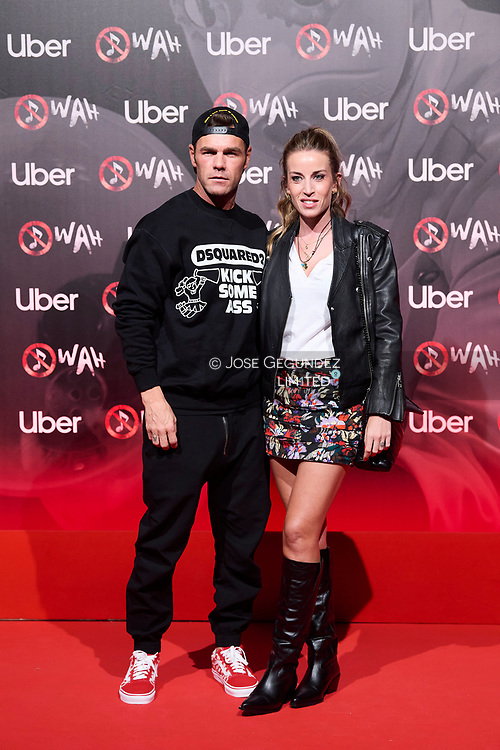 Fonsi Nieto, Marta Castro attends 'Wah' Musical Show World Premiere Red Carpet at IFEMA on October 7, 2021 in Madrid, Spain