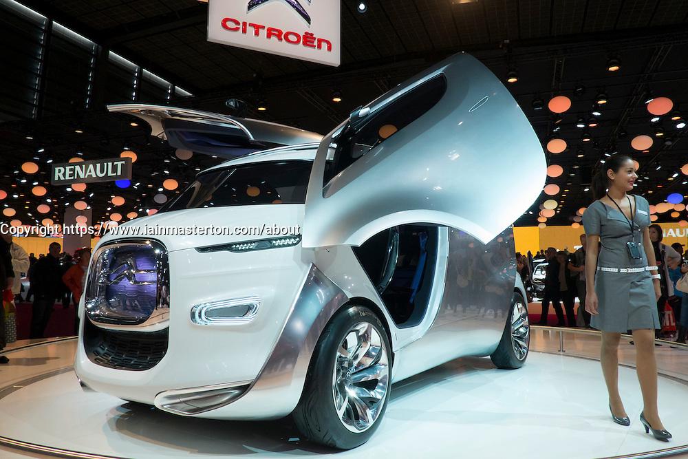 Citroen concept vehicle at Paris Motor Show 2012