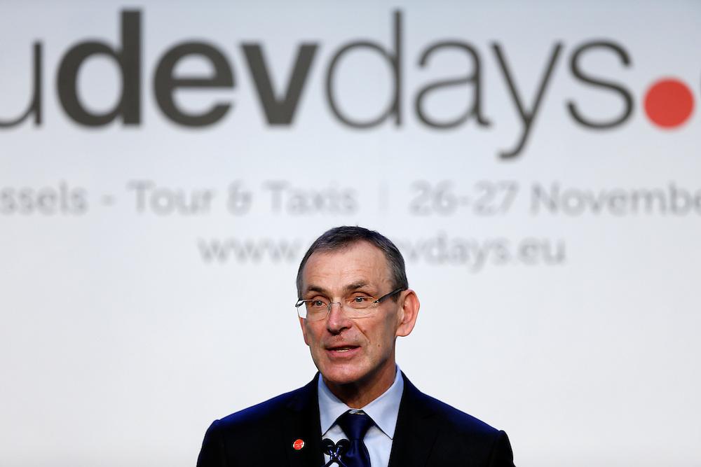 26 November 2013 - Belgium - Brussels - European Development Days - EDD - A vision for the post-2015 agenda - Andris Piebalgs - EU Commissioner for Development © European Union