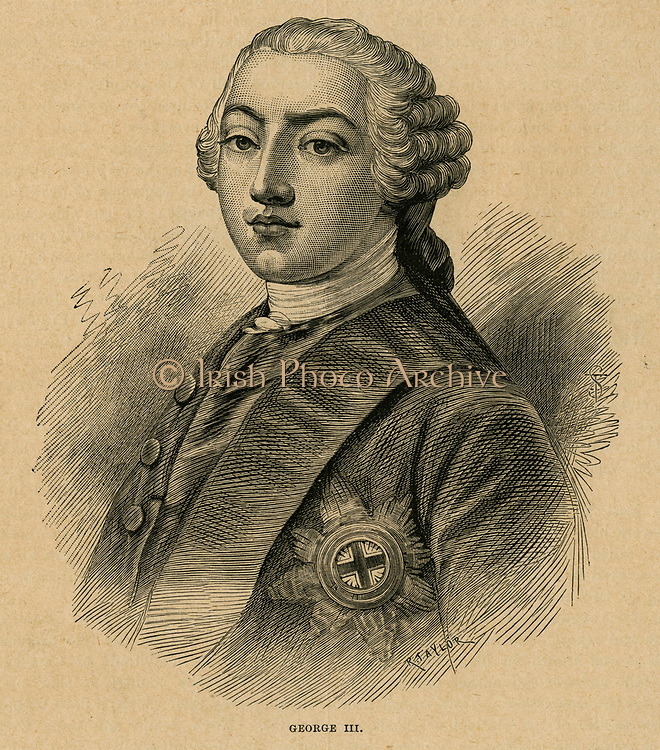 George III (1738-1820) King of Great Britain from 1760.