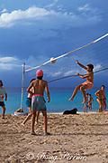 beach vollyball,<br /> Cozumel, Mexico,<br /> ( Caribbean Sea )