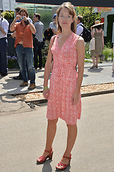ANNA MAXWELL MARTIN at the 2014 RHS Chelsea Flower Show held at the Royal Hospital Chelsea, London on 19th May 2014.