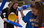 October 29, 2010 - Students joust with plastic lances during homecoming exercises. (MATT WRIGHT)