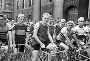 Competitors line up for the start of the Ras Tailteann..05.07.1964