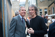 STEPHEN WHITE; IVOR BRAKA, Opening of Dairy with Quicksand- John M. Armleder. Dairy art Centre. ~Bloomsbury. 24 April 2013.