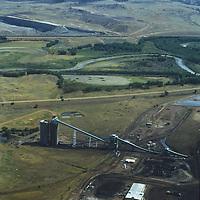 The Spring Creek Coal Mines is a major producer near Decker, Montana.