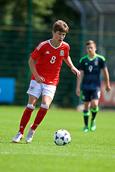 NEWPORT, WALES - Wednesday, July 25, 2018: Cameron Congreve during the Welsh Football Trust Cymru Cup 2018 at Dragon Park. (Pic by Paul Greenwood/Propaganda)