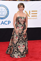 Annie Ilonzeh at the 49th NAACP Image Awards held at the Pasadena Civic Auditorium on January 15, 2018 in Pasadena, CA ©TArroyo/AFF-USA.com. 15 Jan 2018 Pictured: Gabrielle Carteris. Photo credit: MEGA TheMegaAgency.com +1 888 505 6342