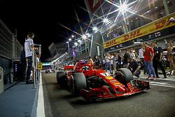 September 16, 2018 - Singapore, Singapore - Motorsports: FIA Formula One World Championship 2018, Grand Prix of Singapore, .#7 Kimi Raikkonen (FIN, Scuderia Ferrari) (Credit Image: © Hoch Zwei via ZUMA Wire)