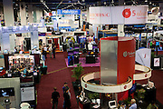 2011 National Association of Broadcasters conference, at the Las Vegas Convention Center, Las Vegas, Nevada.