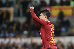 December 26, 2018 - Rome, Italy - Diego Perotti of Roma celebrates after his scores the penalty of 1-0 during the Serie A match between Roma and Sassuolo at Stadio Olimpico, Rome, Italy on 26 December 2018. (Credit Image: © Federica Roselli/NurPhoto via ZUMA Press)