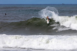 Adin Masencamp of South Africa advances in 2nd to Round 3 from Round 2 Heat 8 of the Hawaiian Pro at Haleiwa, Oahu, Hawaii, USA