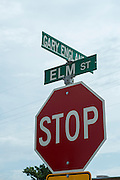 A street in downtown Seiling is named after famed weatherman Gary England, a hometown boy.