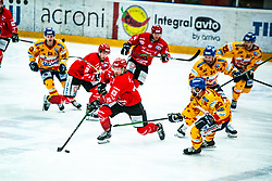 Timotej Kocar during Alps League Ice Hockey match between HDD SIJ Jesenice and Migross Supermercati Asiago Hockey on April 17, 2021 in Ice Arena Podmezakla, Jesenice, Slovenia. Photo by Peter Podobnik / Sportida