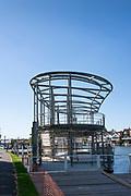Henley on Thames. United Kingdom.   Floating Grandstand, positioned and moored . Thursday  17/05/2018<br /> <br /> [Mandatory Credit: Peter SPURRIER:Intersport Images]<br /> <br /> LEICA CAMERA AG  LEICA Q (Typ 116)  f5  1/1000sec  35mm  42.5MB