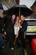 VANESSA MARTINELLI, MICHELE CODONI AND TATINA DE MARINIS PAPACHRISTIDIS. De Grisogono & Londino Car Rally  party. <br />