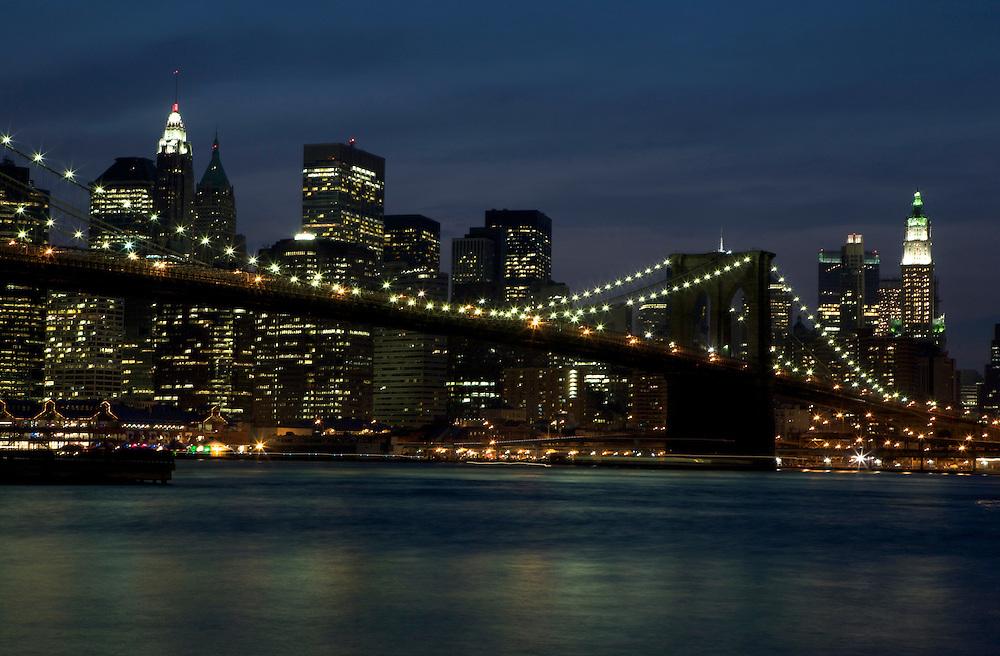 UNITED STATES-NEW YORK CITY-Brooklyn Bridge. PHOTO: GERRIT DE HEUS.VERENIGDE STATEN-NEW YORK. Brooklyn Bridge. PHOTO  GERRIT DE HEUS