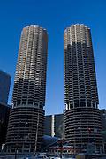 Chicago Illinois USA, Downtown Chicago, December 2007