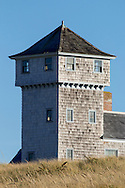 The watchtower of the Old Harbor Life-Saving Station.