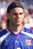 Fotball, Liverpool's Patrik Berger pictured before the Czech Republic against South Korea in Drnovice.  (Foto: Digitalsport).